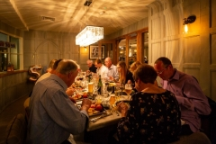 Private Dining around The Oak Table