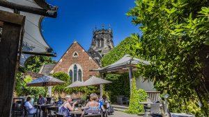 The-Swan-Hotel-Stafford-Garden-Terrace-Sunshine