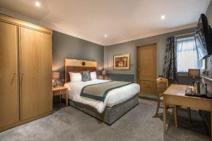 The Swans bedroom 114 standard double