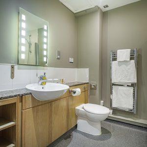 Room 107 Deluxe Bathroom