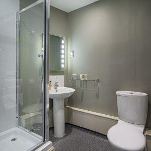 Room 201 Single Bathroom